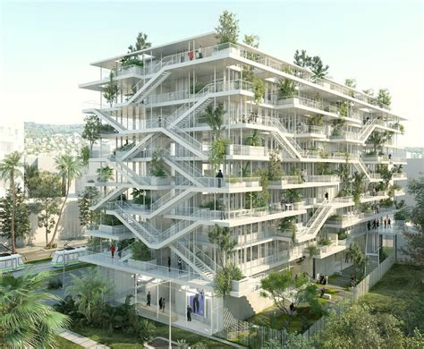 create a building french architects unveil plans for bio climatic inside