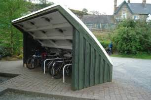 Bicycle Shed Bicycle Shed Plans Diy Woodworking Boards
