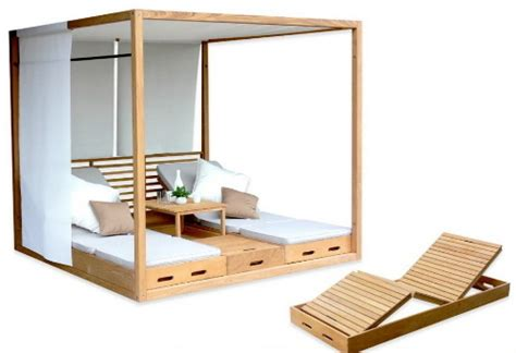 outdoor cabana furniture a place to relax in summer days