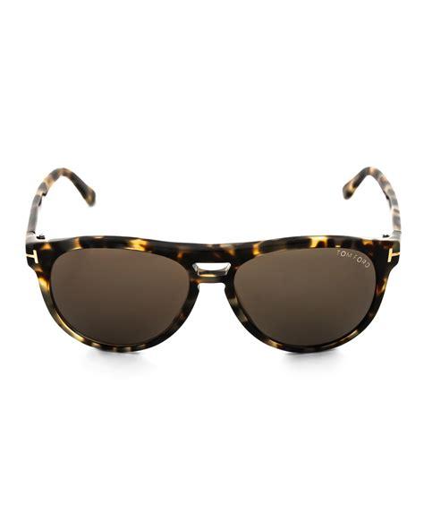 Tom Browne Yellow Lens tom ford tf289 yellow tortoiseshell sunglasses in