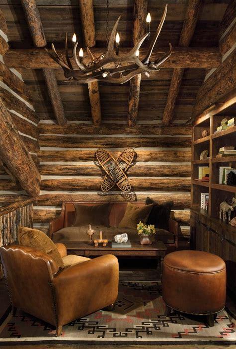 rustic log cabin interiors bathroom rustic with wood door