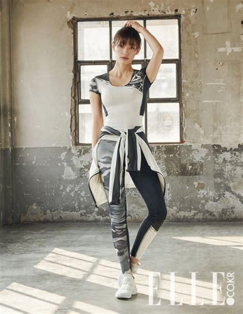 korean actress lee el goblin s lee el slays in elle korea s latest fitness shoot