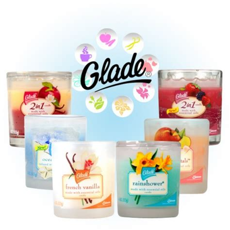Candele Glade by Free Glade Air Freshener Candles 2016