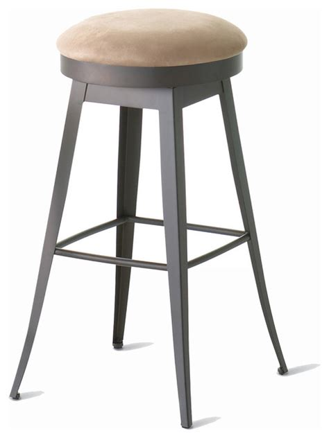 transitional counter stools amisco grace backless swivel stool 42414 26 quot counter