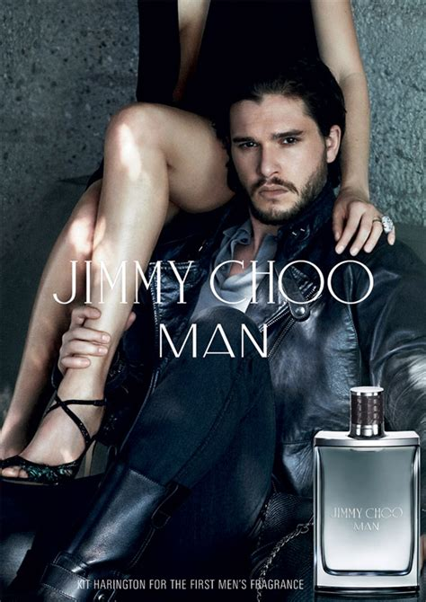Hair Style Kit Shoes by Kit Harington Smolders In New Jimmy Choo Fragrance Ad