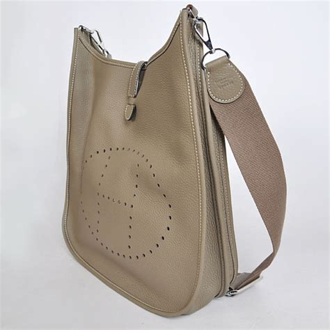 Hermes Bag Korean Fashion Tas Kulit Grey hermes evelyne iii gm hermes replica purses