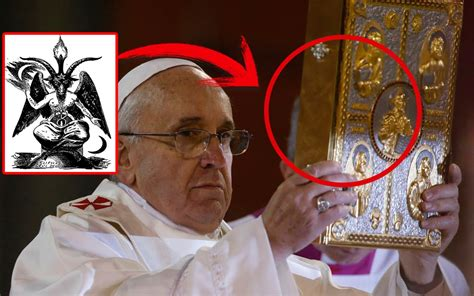 imagenes no tan ocultas del vaticano el papa francisco declara que quot lucifer es dios quot la verdad