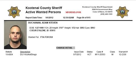 Idaho State Court Records Exposed Adam Buchanan The Banning Informer