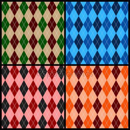 argyle pattern history argyle pattern stock vector 169 julydfg 3787046