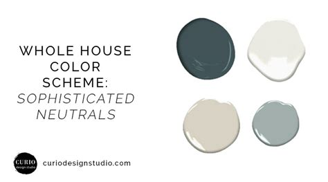 sophisticated colors whole house color scheme sophisticated neutrals blues