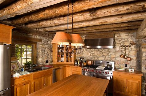 Old Farmhouse Kitchen Designs - 30 inventive kitchens with stone walls