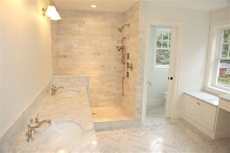 Lafauci Tile Gallery inspired kohler toilets in bathroom transitional with