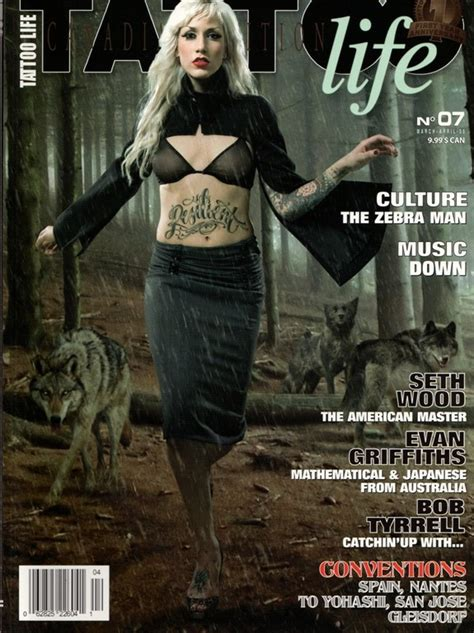 tattoo life magazine instagram tattoo life canadian edition 7 march april 2008 by