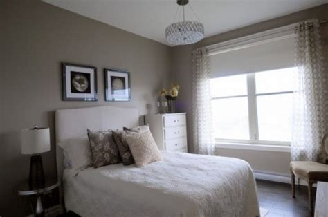 monochromatic guest room paint color benjamin rocky road bedrooms