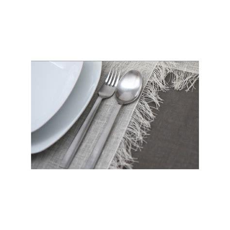 linge de table design set de table en chanvre naturel blanc sign 233 poemo design
