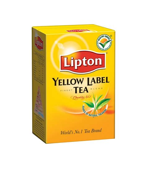 Teh Lipton Yellow buy lipton yellow label tea leaf 250 g at best price in india snapdeal