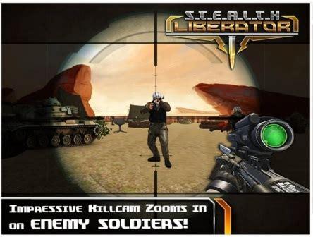 game sniper offline mod apk game perang strategi shooter offline stealth liberator