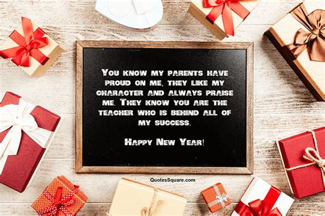 happy  year wishes  teachers  messages
