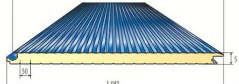 pannelli per tettoie pannelli coibentati per coperture edilvibro