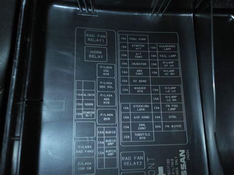 2001 Nissan Xterra Fuse Box Diagram Nissan Recomended Car