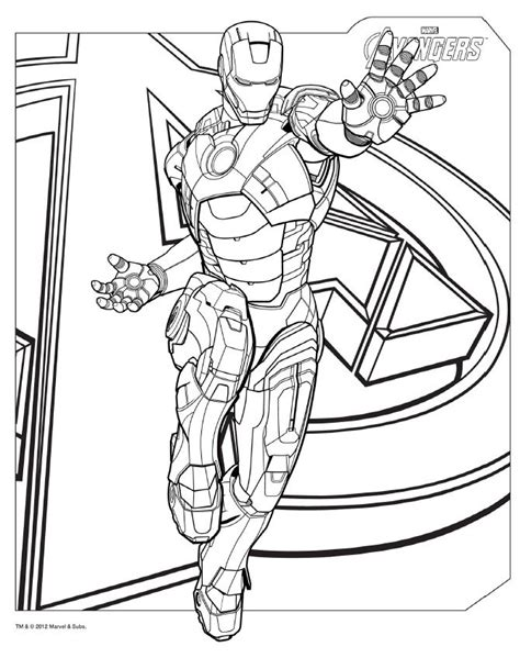 Printable Coloring Pages Avengers | avengers coloring pages to print az coloring pages