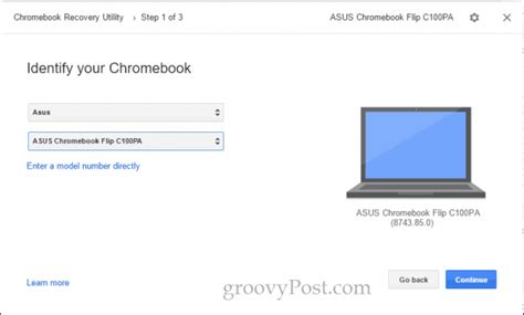 chrome recovery utility why and how to use the chromebook recovery utility