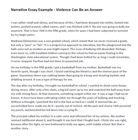 narrative report sle students how to write a narrative essay that will grant you a easy