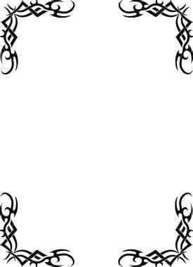 cool frame designs cool border designs for boys clipart best