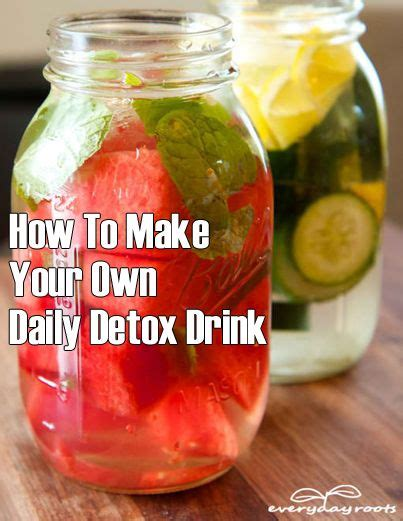 How To Make A Berry Detox Water 17 best images about detox drinks meals on