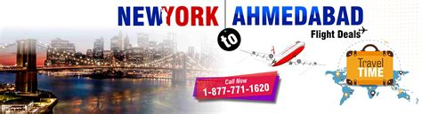 book best airfare flight deal from new york to ahmedabad