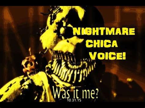 unity tutorial nightmare fnaf 4 quot nightmare chica quot original voice vidoemo