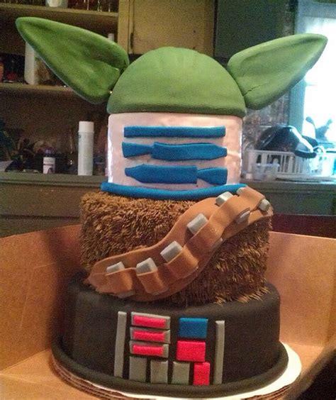 r2d2 kuchen wars mashup cake krieg der kuchen geht weiter