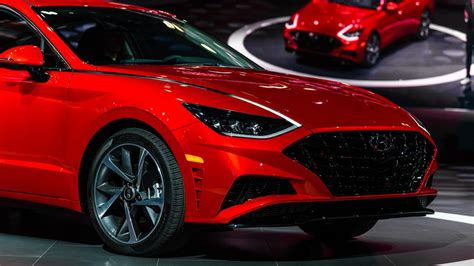 New York Auto Show 2020 Hyundai by 2020 Hyundai Sonata Brings Arresting Style To New York