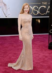 Giorgio Armani And The Annual Academy Awards by Chastain In Armani Prive At The 85th Annual