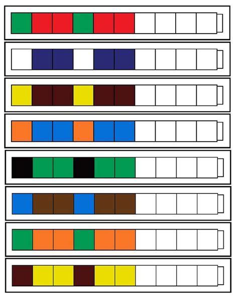 decreasing pattern games 15 best number patterns images on pinterest number