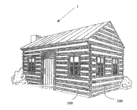 log cabin coloring pages coloring pages