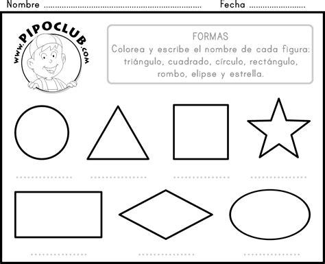 ejercicios de figuras geometricas ejercicios para kinder figuras geometricas imagui