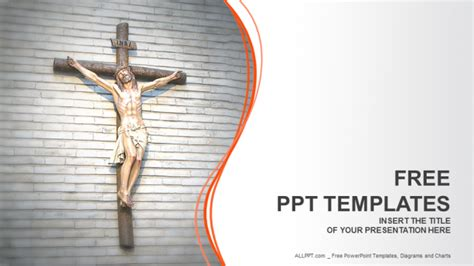 jesus christ religion powerpoint templates