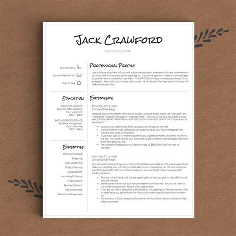 Resume Template With Picture Insert by 1000 Images About Professional Resume Templates On