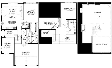 floor plans princeton princeton model in the waterbury place subdivision in