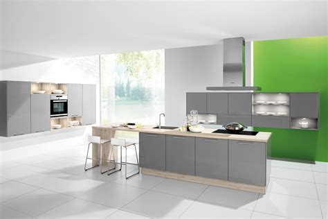 Grey Gloss Kitchen Cabinets by Cuisine Taupe Laqu View Full Size Gorgeous Kitchen