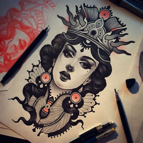 the dark queen on behance