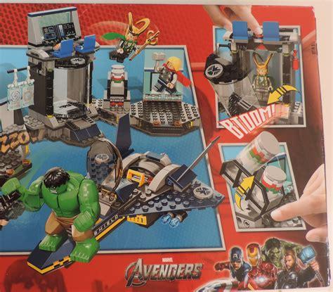 Murah Lego Superheroes 6868 S Helicarrier Breakout lego marvel heroes s helicarrier breakout set 6868 thor loki new lego complete