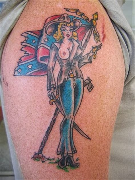 rebel flag tattoo designs rebel flag tattoos