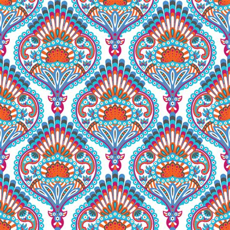 paisley pattern vector free download ornate paisley pattern seamless vector free vector in