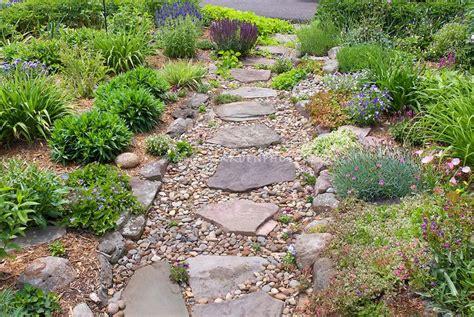 rock pathways rock borders around pathways rock garden on hillside