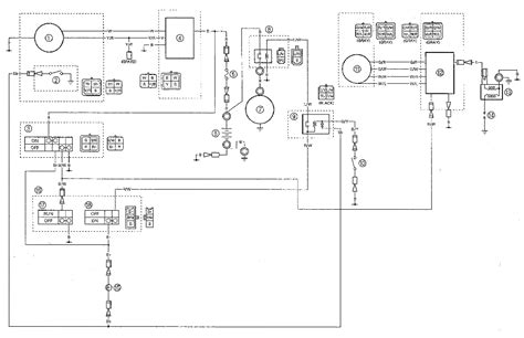 yamaha atv wiring diagram 25 wiring diagram images