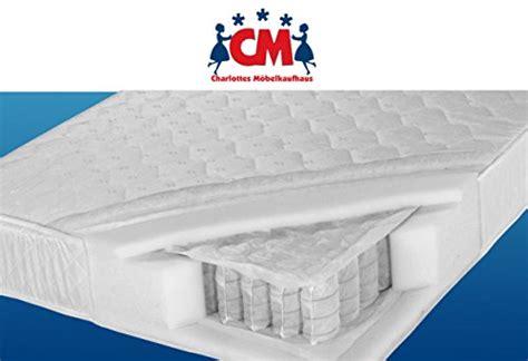 Federkernmatratze 140x200 H3 by Tonnen Taschenfederkernmatratze 140x200 Cm Florence Plus