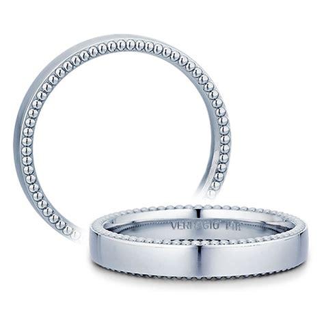 Wedding Bands Verragio by Verragio 4n02 4mm Platinum Beaded Mens Wedding Band