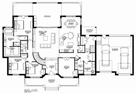 one story house plans with basement and porch escortsea